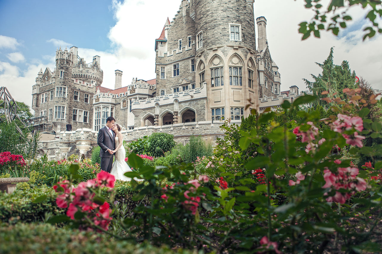 Featured Toronto Wedding Location- Casa Loma- AGI STUDIO