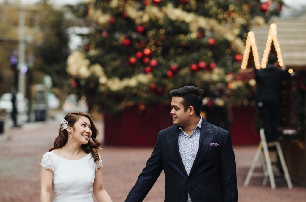 How to Stay Warm During Winter Wedding Photos- AGI Studio