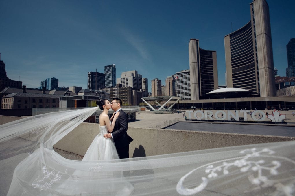 Featured Toronto Wedding Location: City Hall- AGI Studio Wedding Photographers