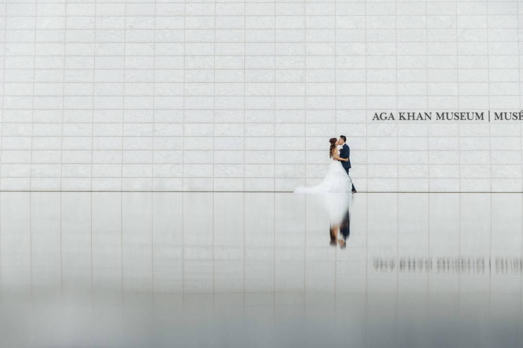 Featured Toronto Wedding Location: Aga Khan Museum- AGI Studio Toronto Wedding Photographer