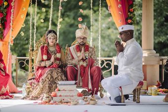 Shannon & Satesh's Indian Wedding Photography Album