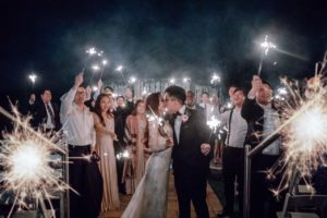 Exit Send Off Wedding Photography