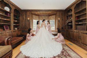 Dress Reveal Wedding Photography